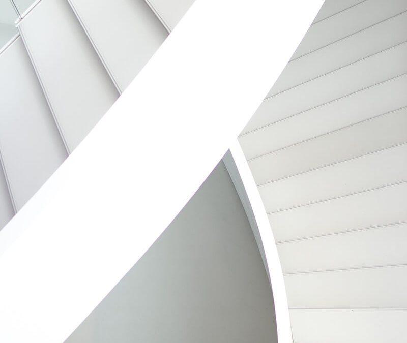 Escada Branca. Maravilha arquitetônica!