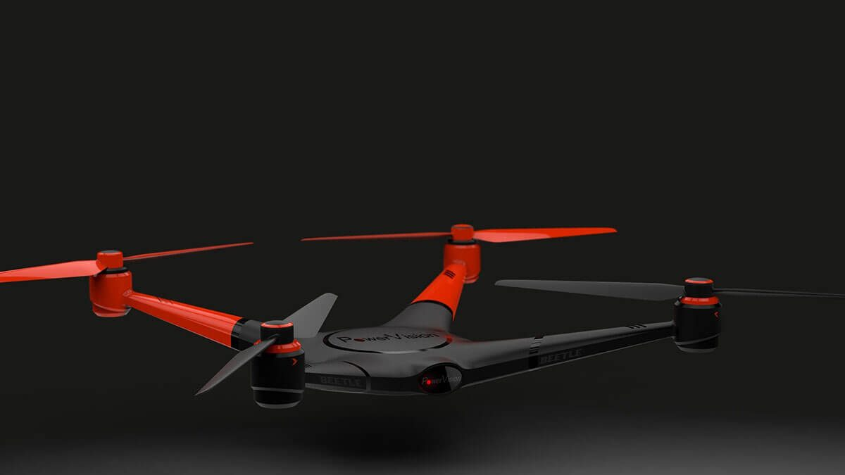 Drone alimentado por IA pode detectar obstáculos