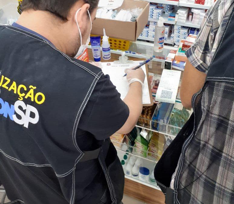 Procon faz operação contra abusos na venda de álcool em gel e máscaras