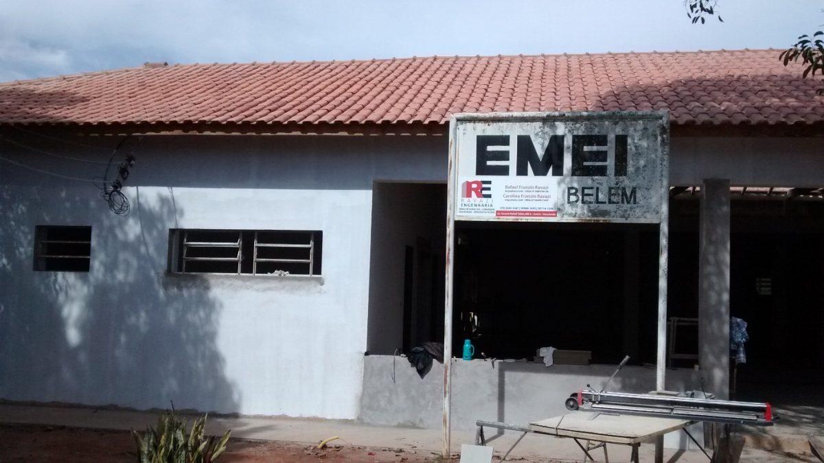Reforma da EMEI Prof. Mário Franceschini entra na fase de acabamento