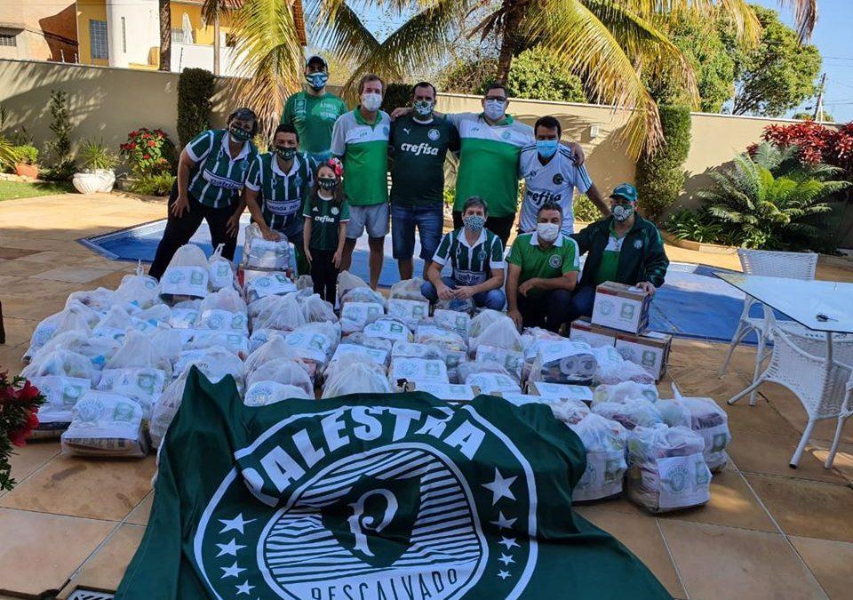 Associação Palestra Descalvado arrecada e distribui cestas básicas para famílias necessitadas