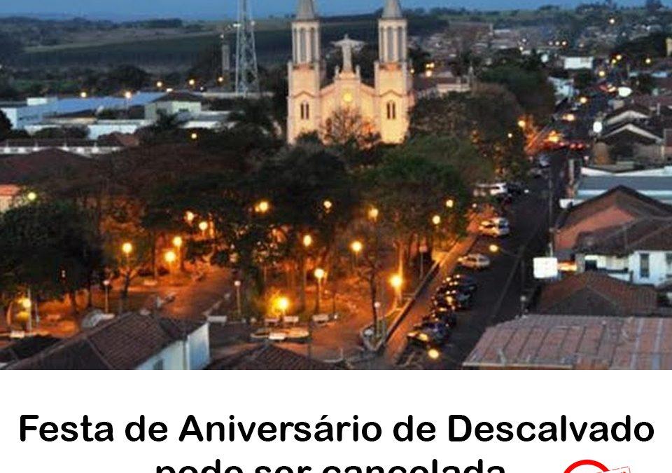 Becão e Luiz Carlos analisam a possibilidade de não realizar a tradicional Festa de Aniversário de Descalvado em razão da situação emergencial na área da saúde