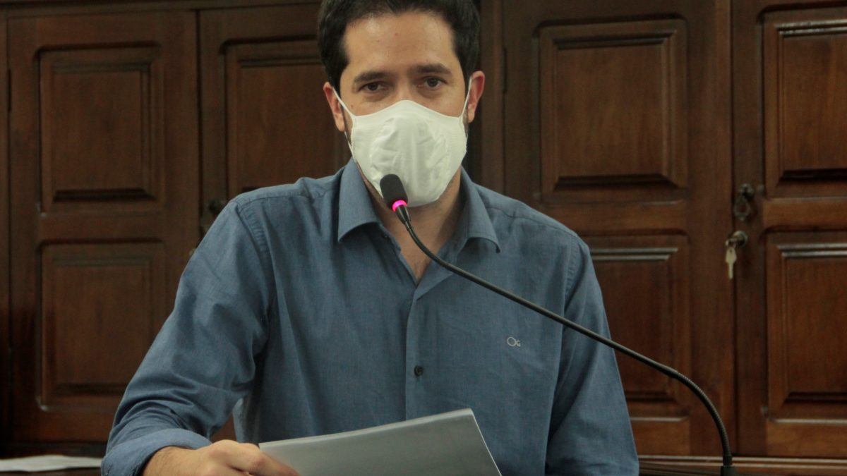 Luisinho sugere campanha de conscientização para prevenir Covid-19