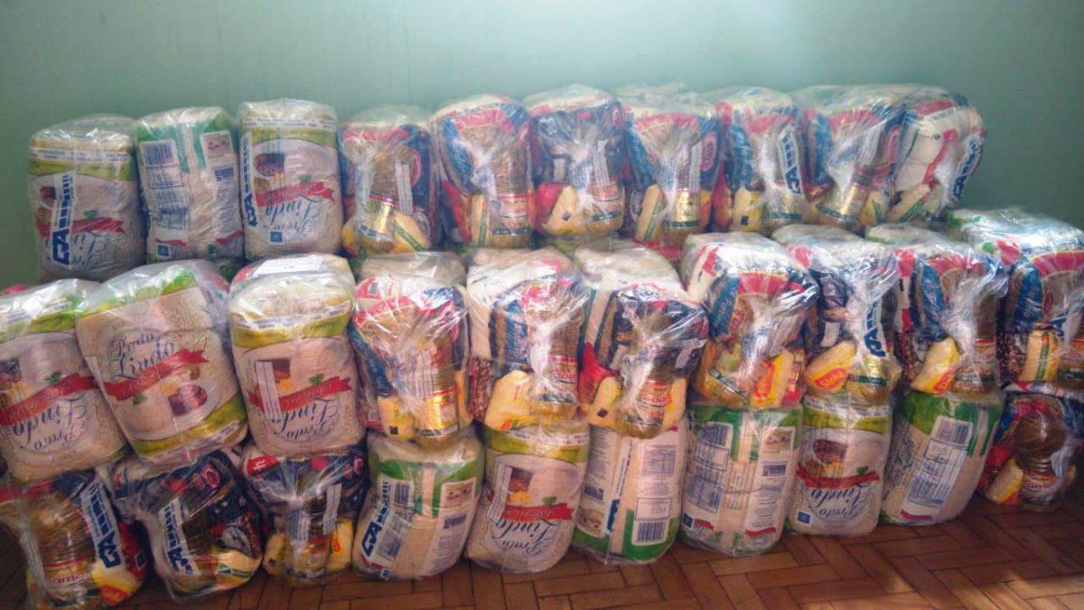Fundo Social do Município recebe novas doações de cestas básicas