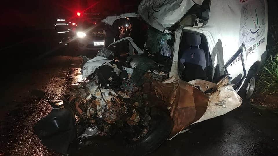 REGIÃO: MOTORISTA MORRE APÓS ACIDENTE NA RODOVIA DEPUTADO CUNHA BUENO, EM LUIZ ANTÔNIO