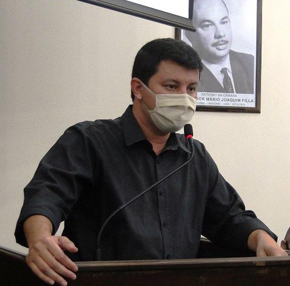 Diego da Global requer vigilância para reforçar a segurança do patrimônio público