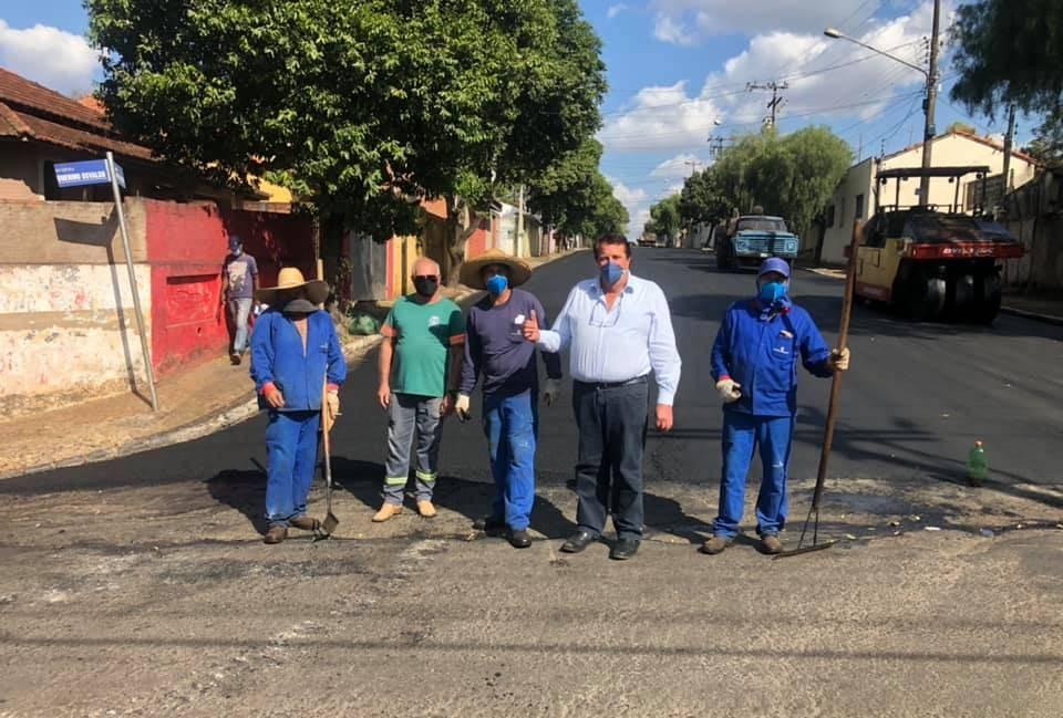 'PROGRAMA ASFALTO NOVO' Mais três importantes ruas de Descalvado foram recapeadas
