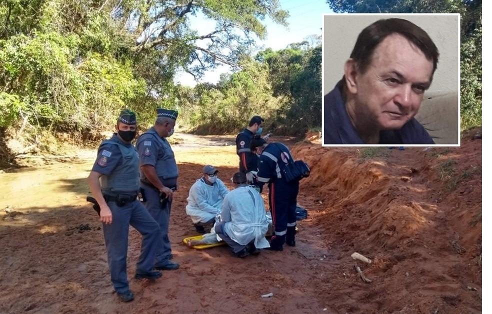 Região: Idoso de 69 anos é encontrado debilitado em mata após 17 dias desaparecido em São Carlos
