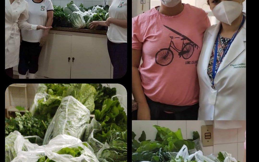 Em Santa Rita do Passa Quatro: Santa Casa recebe doações importantes para refeições dos pacientes