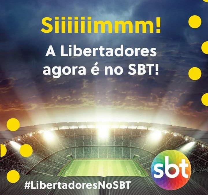 SBT assina contrato e abre transmissões da Libertadores com Palmeiras