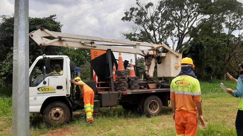 Região: Trabalhador morre eletrocutado durante manutenção de rede de wi-fi em São Carlos
