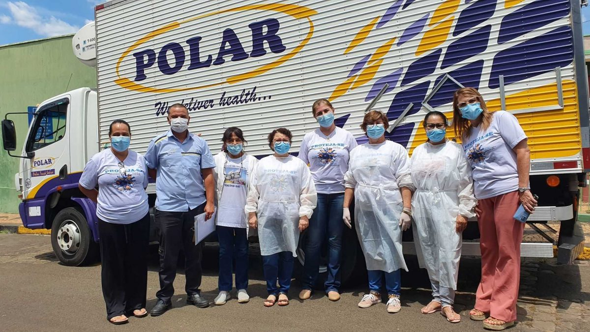 Secretaria de Saúde inicia vacinação dos profissionais da 'linha de frente' em Descalvado