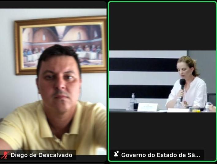 Gestores participam de evento virtual que oficializou a transferência de recursos do governo estadual para o Fundo Municipal de Assistência Social