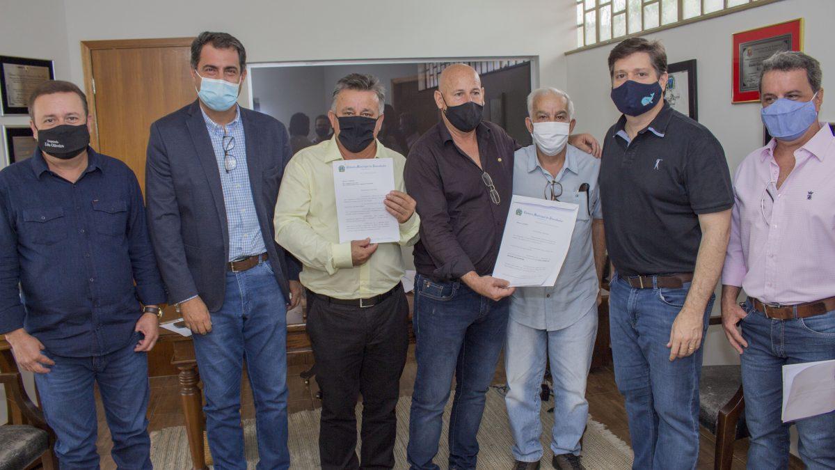 Vereadores vão ate Ribeirão Preto para apresentar ofícios para deputados e buscar recursos para Descalvado