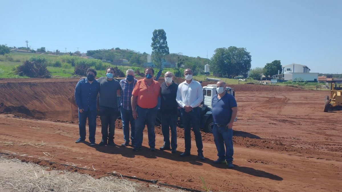 Empresa de insumos inicia obra no novo Distrito Industrial do Tamanduá