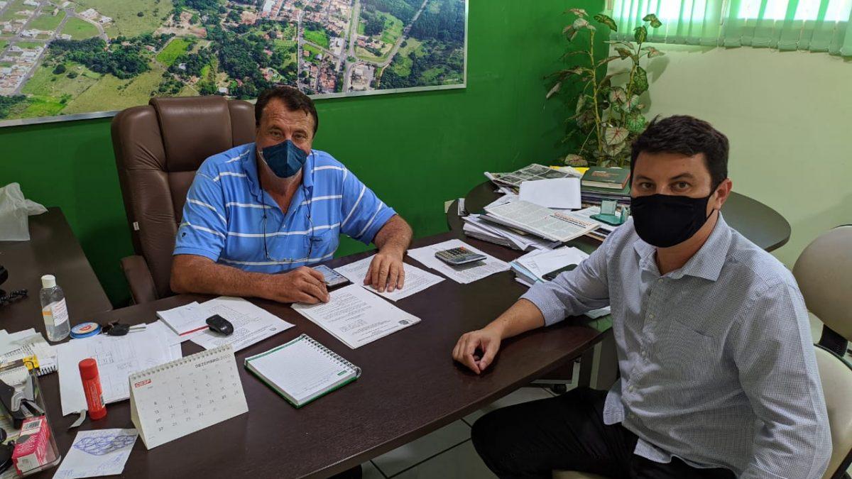 Ao Jornal Primeira Página, Becão faz um balanço dos primeiros cem dias de governo do seu segundo mandato à ferente da Prefeitura de Descalvado