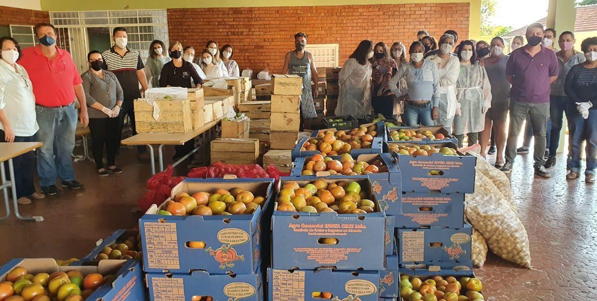 Descalvado recebe doação de alimentos da CEAGESP
