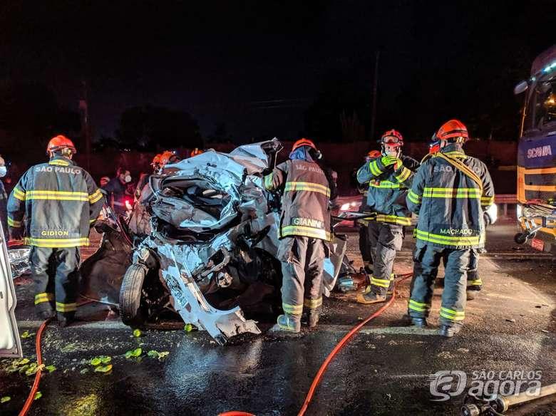 REGIÃO: Grave acidente envolve pelo menos 8 veículos na Washington Luis