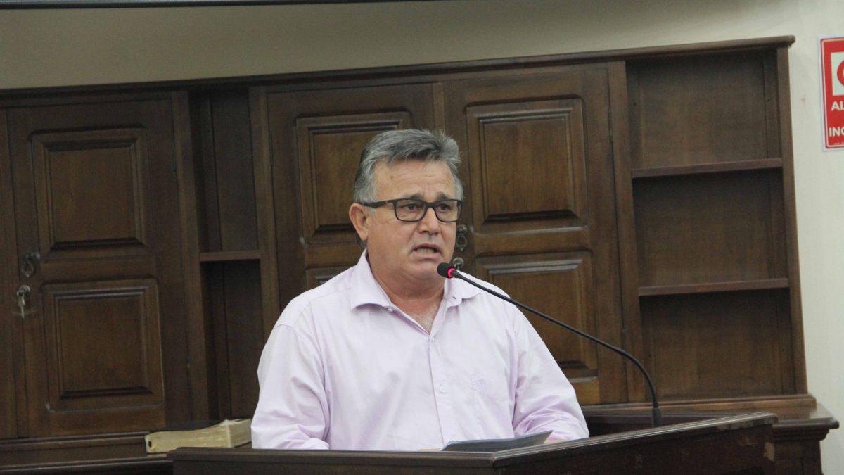 Carlinhos Turmeiro reivindica melhorias para a Santa Casa