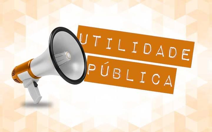 UTILIDADE PÚBLICA: DESPACHO OFICIAL PARA PUBLICAÇÃO