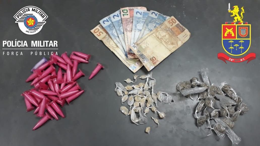 REGIÃO: Prisão em Flagrante por Tráfico de Drogas em Porto Ferreira