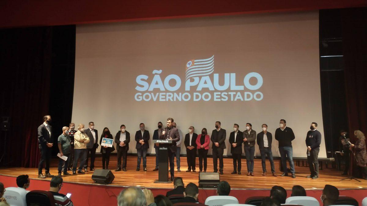 Na presença do vice-governador, Becão assina convênio para instalação do Poupatempo em Descalvado