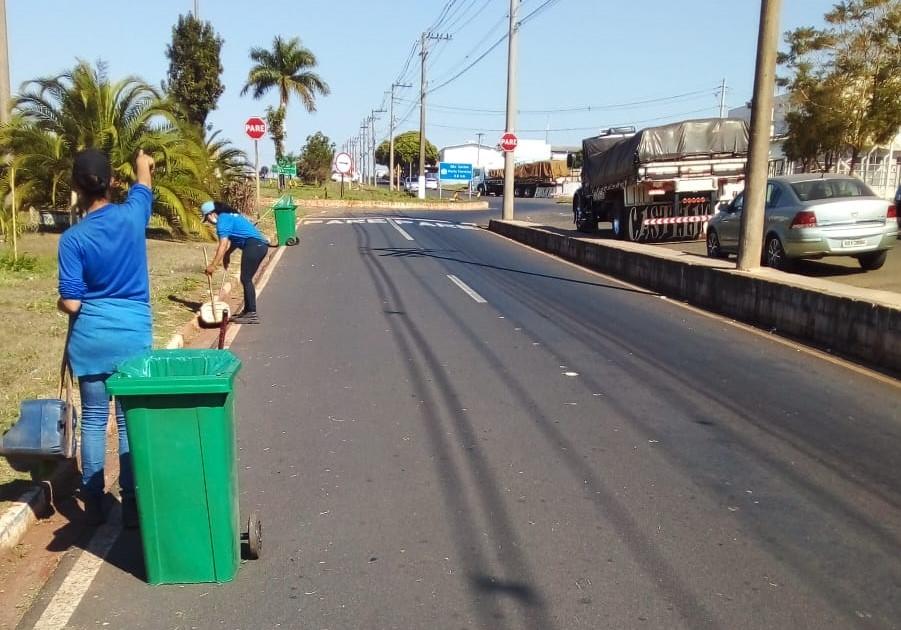 Mais seis bairros da cidade são favorecidos com o projeto de terceirização da limpeza urbana