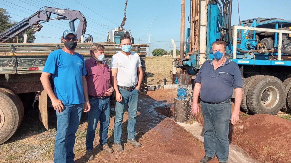 Prefeitura e Semarh dão início ao projeto do novo reservatório de água no Jardim Albertina