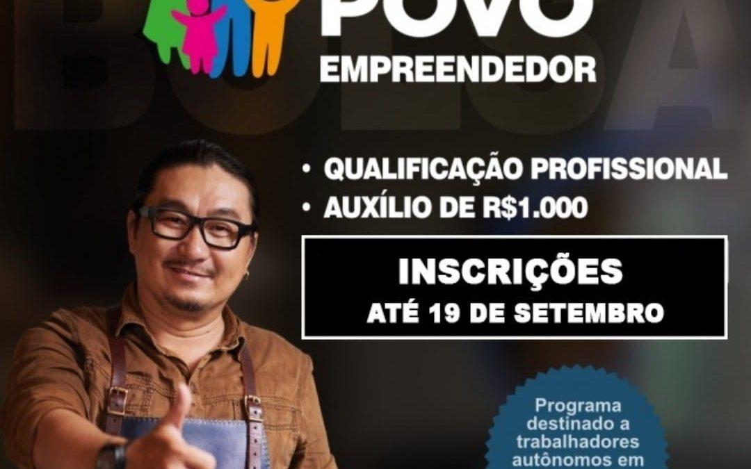 Bolsa do Povo SP Empreendedor: Auxílio de R$ 1.000 tem inscrições abertas