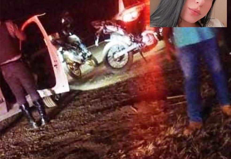 Região: Jovem morre após cair de garupa de moto